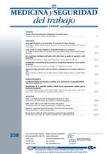 Imagen Revista Medicina y Seguridad en el Trabajo 2015