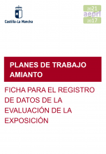 Ficha de registro de datos de la evaluación de la exposición