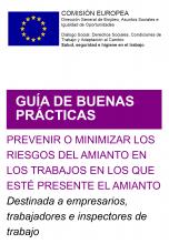 Guía de buenas prácticas para prevenir o minimizar los riesgos del amianto