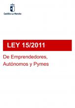 Ley 15/2011, de Emprendedores, Autónomos y Pymes