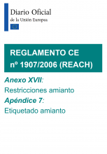 REACH. Anexo XVII y Apéndice 7