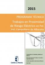 Trabajos en proximidad de riesgo eléctrico en Pol. Ind. Campollano de Albacete