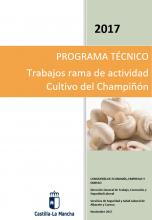 Trabajos en la actividad del cultivo del champiñón