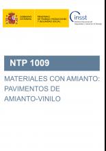 NTP 1009-Materiales con amianto: pavimentos de amianto-vinilo