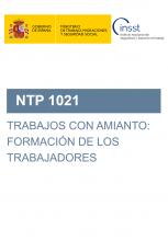 NTP 1021-Trabajos con amianto: Formación de los trabajadores