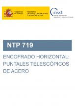 NTP 719-Encofrado horizontal. Puntales telescópicos de acero