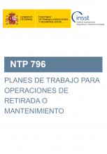 NTP 796-Planes de trabajo para operacionesde retirada o mantenimiento