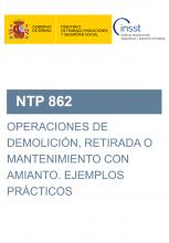 NTP 862-Operaciones de demolición, retirada o mantenimiento con amianto
