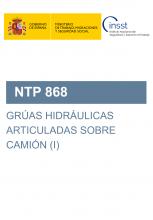 NTP 868-Grúas hidráulicas articuladas sobre camión (I)