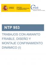 NTP 953-Trabajos con amianto friable, diseño y montaje de confinamiento dinámico (I)