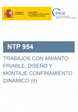 NTP 954-Trabajos con amianto friable, diseño y montaje de confinamiento dinámico (II)