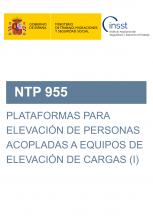 NTP 955-Plataformas para elevación de personas acopladas a equipos de elevación de cargas (I)