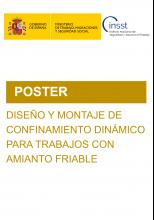 POSTER-Diseño y montaje de confinamiento dinámico para trabajos con amianto friable